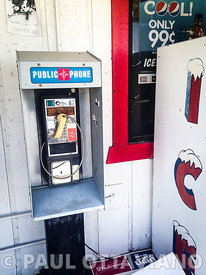 Broken Public Phone | Paul Ottaviano Photography