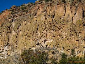 Cliff Trail - Bandelier National Monument
