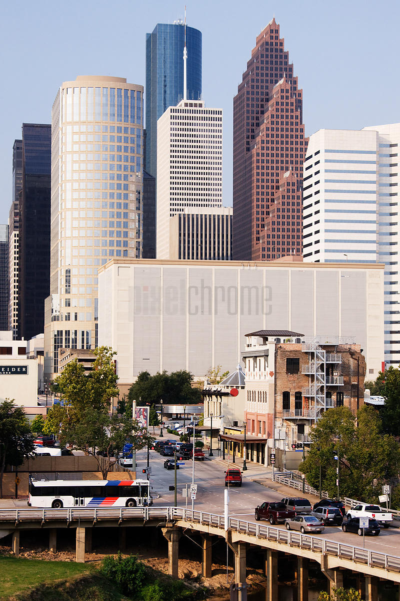Skyscrapers in a city, Houston, Harris County, Texas, USA