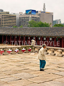 Ancient and modern Seoul