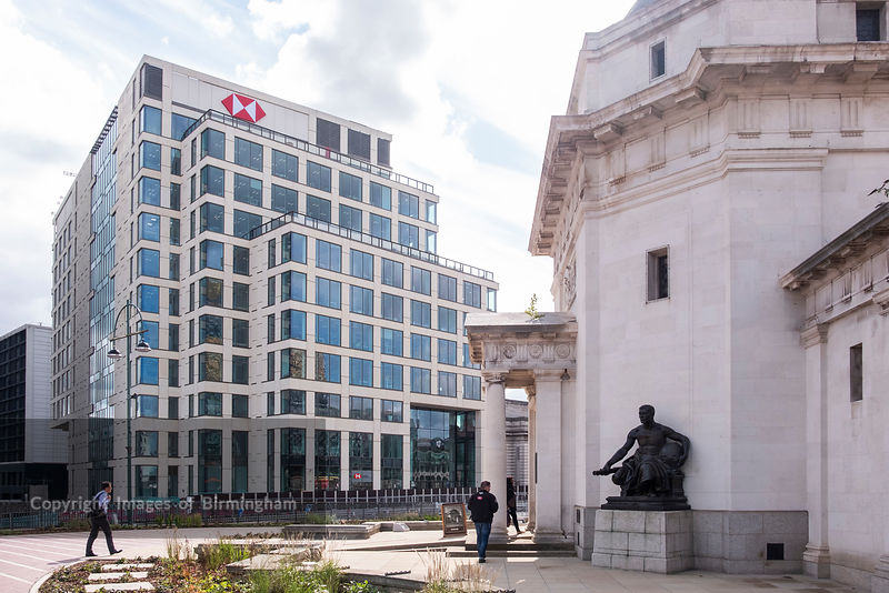 Images of Birmingham Photo Library HSBC Headquarters in