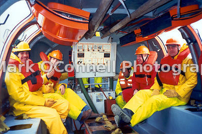 Sea survival course at Warsash UK