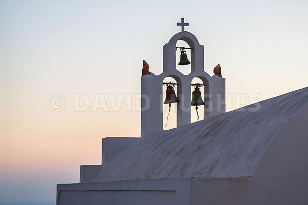 Church Bells, Santorini.