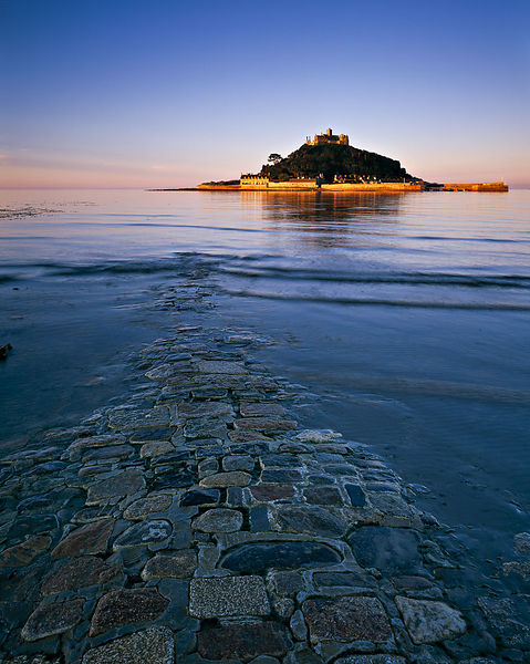 First Light - St Michael's Mount was used by Visit Britain for their 'Great' campaign. It is an OPEN edition print.