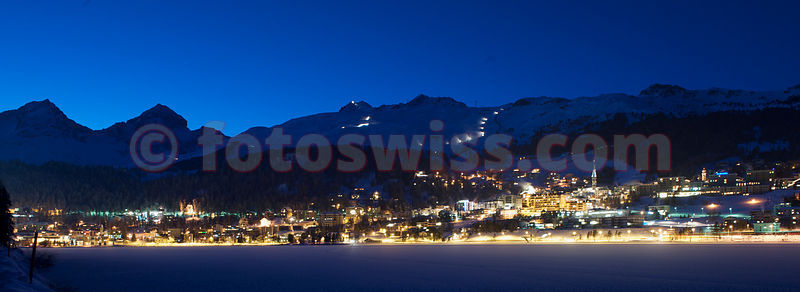 St.Moritz City Winter Night