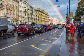 Rainbow Over Saint Petersburg