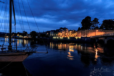 Town lights, Cardigan