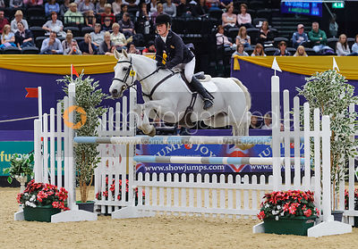 Alfie Bradstock and Montezuma II, Horse of the Year Show 2010
