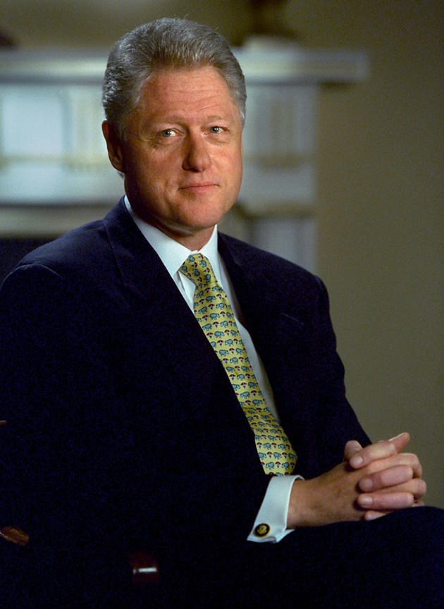 President William Clinton, White House.