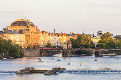 Nationaltheater, Moldau, Altstadt, Prag