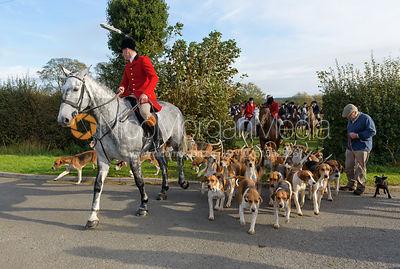 The Belvoir Hunt Opening Meet 28/10