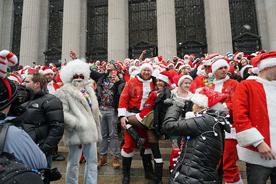 Santacon 2017 New York City photos