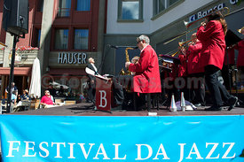 The Vintage Big Band at Festival da Jazz Live at Dracula Club St.Moritz