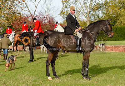 Stuart Campbell, Cottesmore Hunt Opening Meet 2018