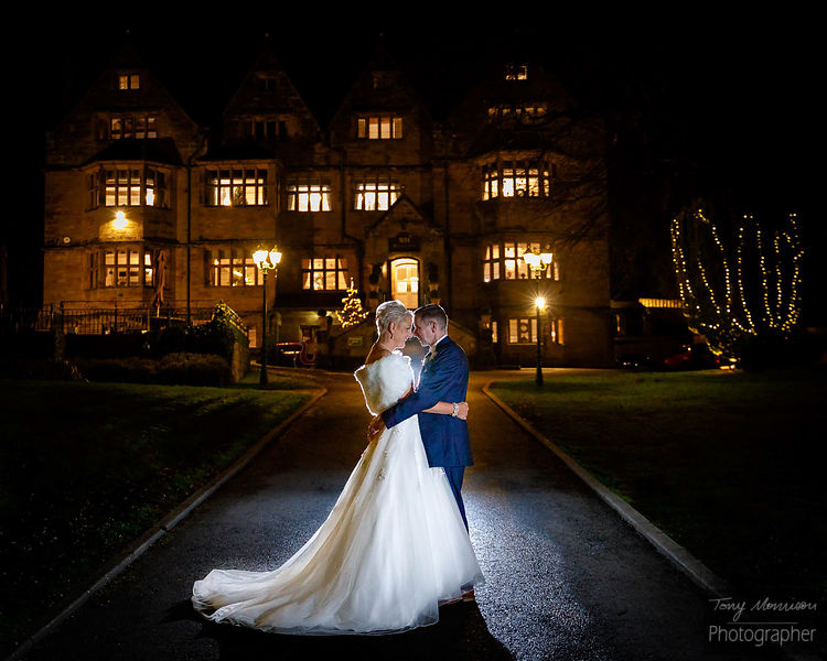 Evening Portraits ... 1st look preview of Jo & Mart's #BigDay #NewYear #Wedding at @weston1234 (Weston Hall) #Weddingphotogra...