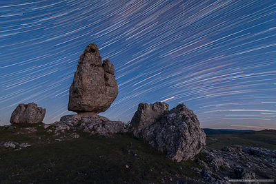 The rock of the Stars - Fraissinet-de-Fourques - Lozère