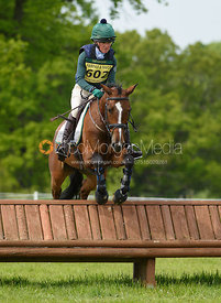 Eliza Stoddart and GENIA, Fairfax & Favor Rockingham Horse Trials 2018