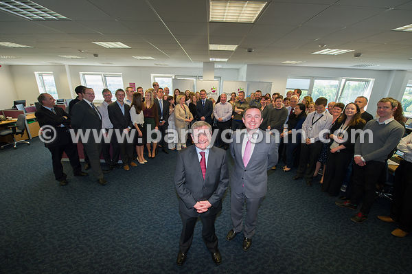 People Point HR and Shared pesnion services opening of new HQ at Belfield Office Park, Clonskeagh, Dublin.Pictured are Minist...