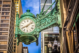 Chicago Great Clock Photo
