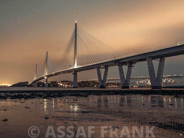 Queensferry Crossing bridge, Scotland