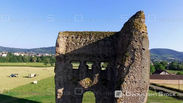 Temple de Janus  Ruin of old Gaul temple in Autun in Burgundy France