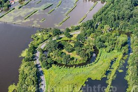 Loosdrecht - Luchtfoto Fort Spion