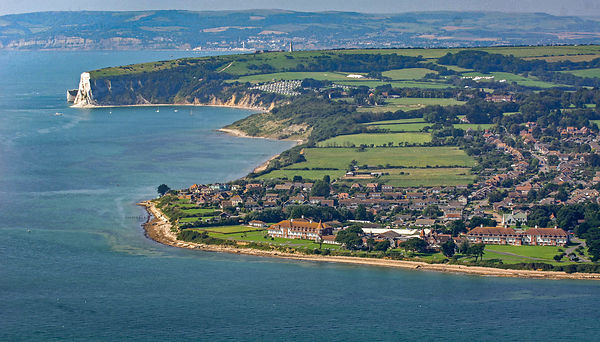 Aerial View of Bembridge Hotel on the Isle of Wight