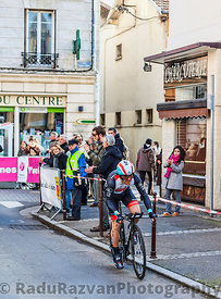 The Cyclist Monfort Maxime- Paris Nice 2013 Prologue in Houilles