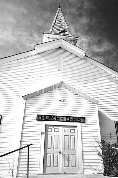 Old Church of Christ Building in Blanket, Texas