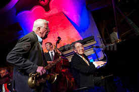 WHERE IS THE MELODY?.Paul Kuhn Trio - The Legend at Festival da Jazz Live at Dracula Club St.Moritz