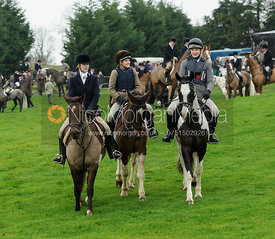 Supporters at the meet - Bedale at Tunstall, Catterick