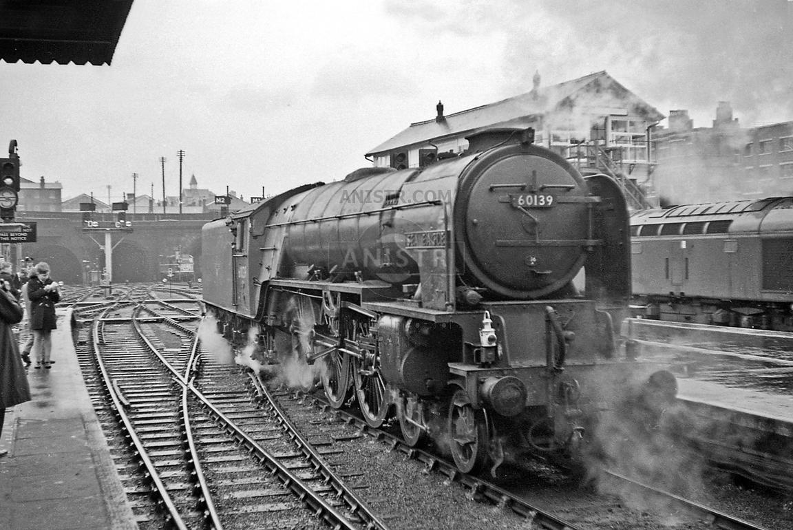 Steam loco A1 60139 Kings Cross