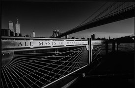 'Tall Masts of Manhattan Stand Up' 1999: Photographer: Neil Emmerson