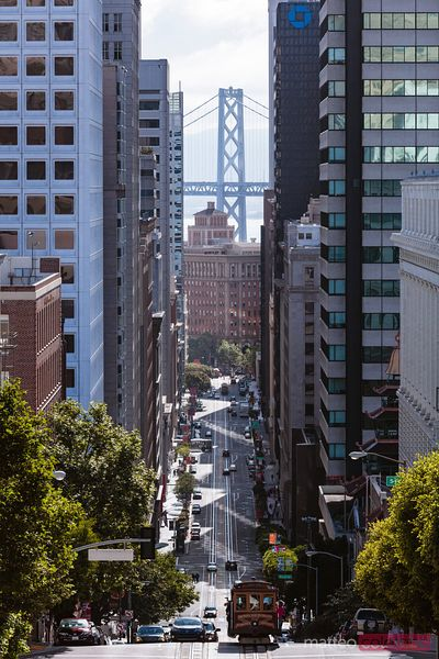 California street, San Francisco, California, USA