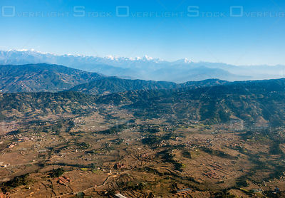 Himilayas and Kathmandu Valley Nepal Asia
