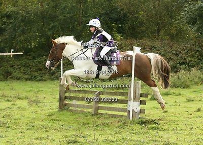 Crabbet Park Hunter Trial - Sept 2016