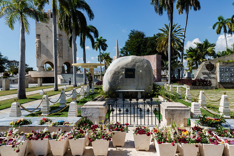 Final Resting Place of Fidel Castro