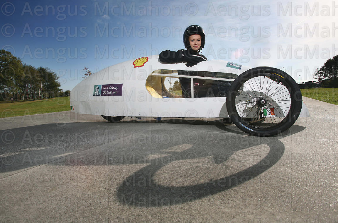 Launch of NUI Galway Eco-Car..Photograph by Aengus McMahon..... .. .....
