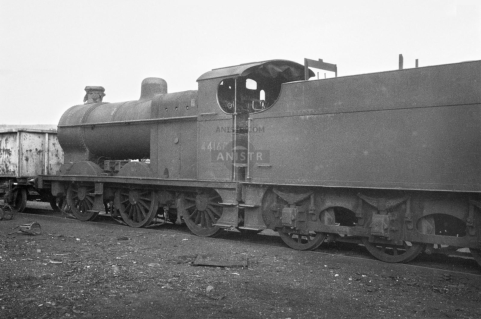 Steam loco 4F 44160 Workington mpd