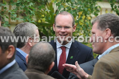 16th September 2013. Fine Gael parliamentary meeting in The Hermitage, Killenard, County Laois.Pictured is Minister for Agric...