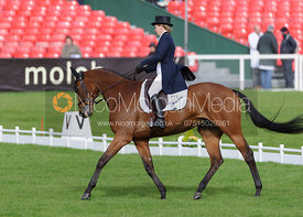 Susanna Bordone and BLUE MOSS  - Dressage - Mitsubishi Motors Badminton Horse Trials 2013.
