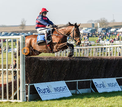 Jennifer Harbison (BRACKLOON HIGH). Race 4 - Ladies Open. The Cottesmore at Garthorpe