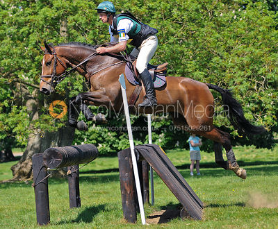 Mark Kyle and Rudy Minotais, Brigstock International Horse Trials 2010