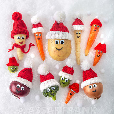 Fun Christmas Veg