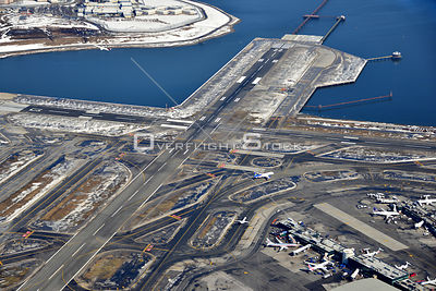 LaGuardia Airport In Winter