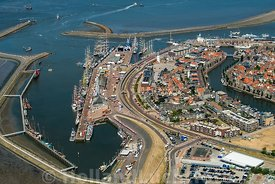 Harlingen - Luchtfoto Tall Ships Races 18