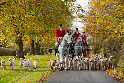Cottesmore Hunt Opening Meet, Preston Lodge 30/10