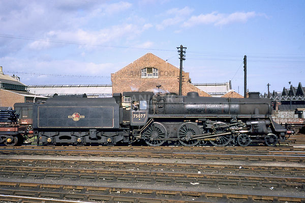 Steam loco Standard 4MT 75077 Eastleigh