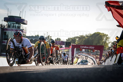 Paralympic Hand Cycling Brands Hatch