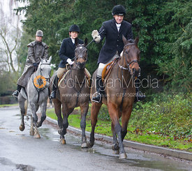 - The Cottesmore Hunt at Belton-in-Rutland 21/12